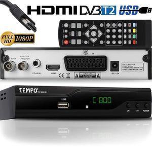 RÉCEPTEUR - DÉCODEUR   Tempo 4000 Décodeur Terrestre TNT - DVB T2 / HDMI