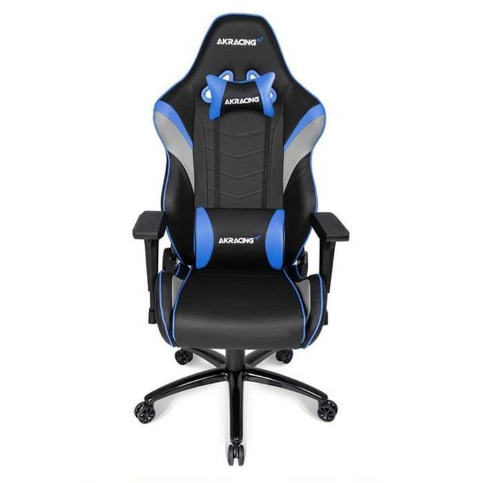 AKRACING Series Core LX - AKLXBL - Siège Confort pour Gamer finition cuir - Bleu