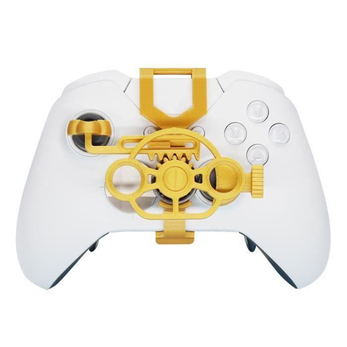 Mini volant contrôleur de jeu accessoire de remplacement or pour Xbox One Xbox Racing SKB60