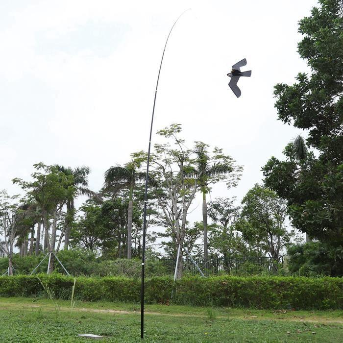 ARAMOX cerf-volant effaroucheur d'oiseau 6m oiseau effaroucheur répulsif fermier cultures protégeant cerf-volant oiseau répulsif