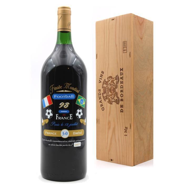 Château La Croix Sainte-Anne 1996 - Finale Mondial Football 98 - Vin de Bordeaux - Magnum - 150cl