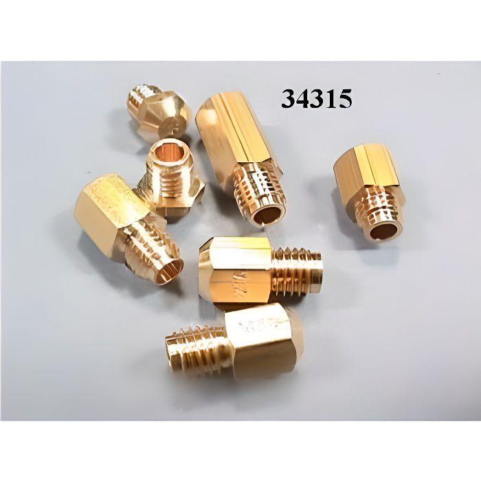 Sachet injecteurs gaz naturel pour cuisinière BRANDT 34315 - KIT INJECTEURS GAZ NATUREL BRANDT - VE - BVMPièces