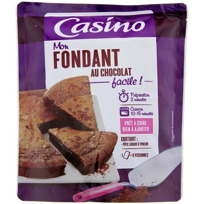 CASINO Préparation Mon fondant au chocolat - 500 g