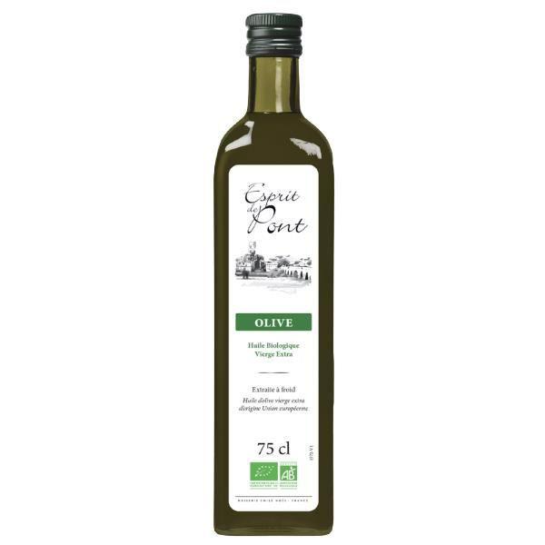 Huile d'olive vierge extra Esprit de Pont - 75cl