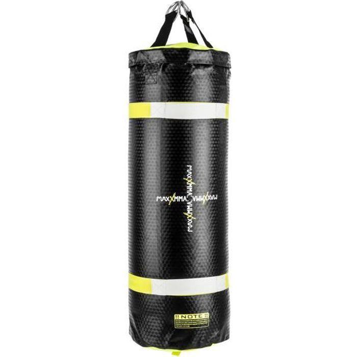 Klarfit Maxxma A Sac de frappe pour entraînement boxe - kick-boxing - Uppercut Bag à eau et air - Cuir synthétique et PVC résistant