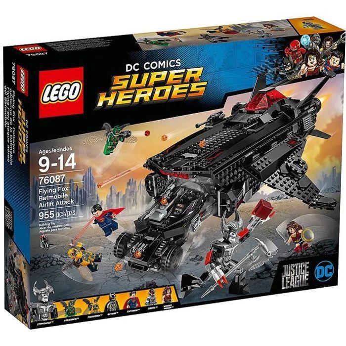 LEGO® DC Comics Super Heroes 76087 Flying Fox : l'attaque aérienne de la Batmobile