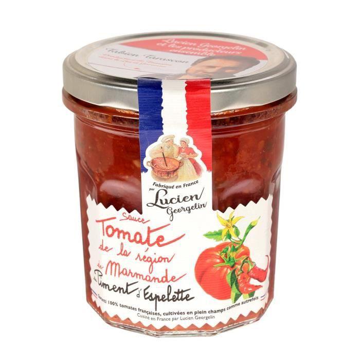 Sauce tomate piment d'espelette 300G LES RECETTES CUITES AU CHAUDRON