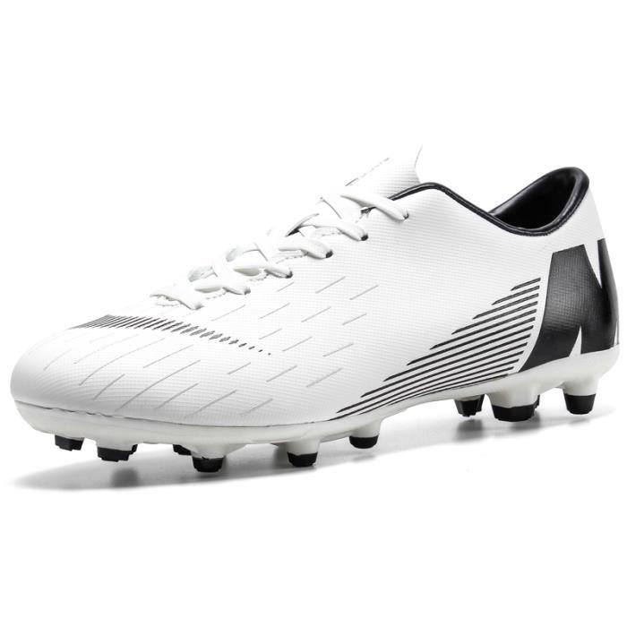 DORAIMI® Chaussures de football pour jeunes et adultes, Chaussures de football pour jeunes et adultes, chaussures de football de