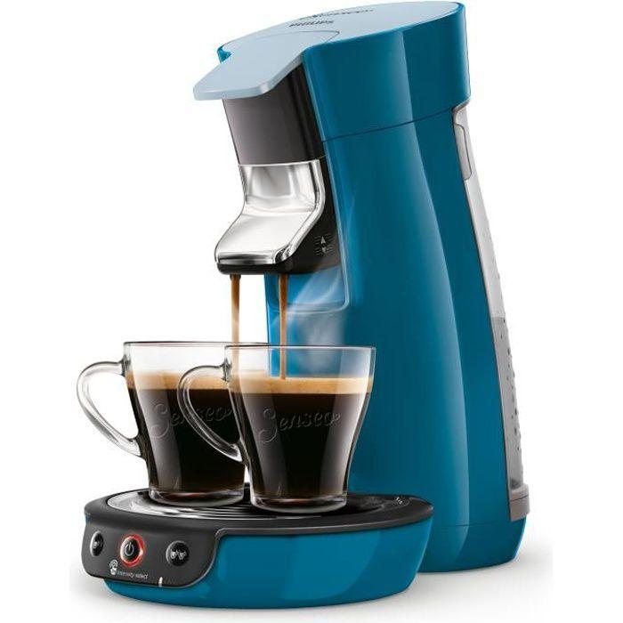 Senseo Viva Café HD6563-70, Autonome, Cafetière à dosette, 0,9 L, Dosette de café, 1450 W, Bleu
