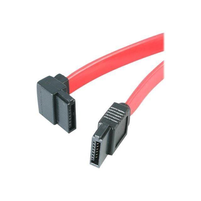 Câble Sata à angle gauche de 30 cm Câble Sata à angle gauche de 30 cm Cordon Serial Ata coudé Sata12la1