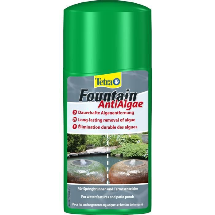 TETRA Pond Fountain AntiAlgae - Anti-algue pour poissons de bassins - 250ml