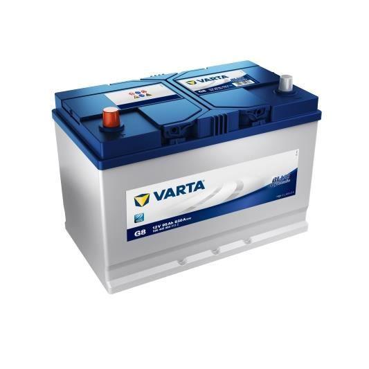 VARTA Batterie Auto G8 (+ gauche) 12V 95AH 830A