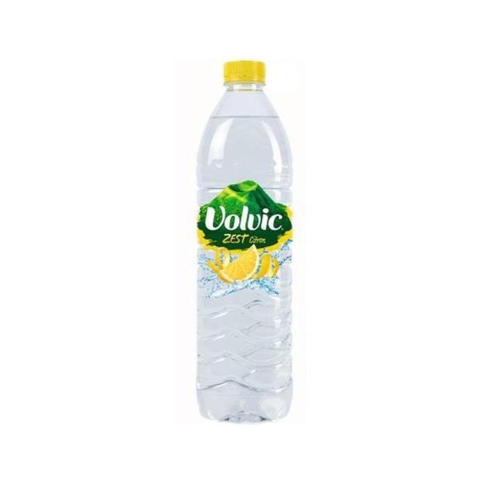 Volvic Zest Citron 1,5L (lot de 12)
