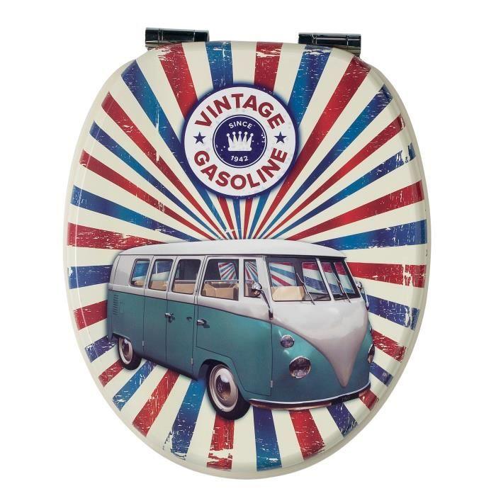 Abattant wc vintage Van
