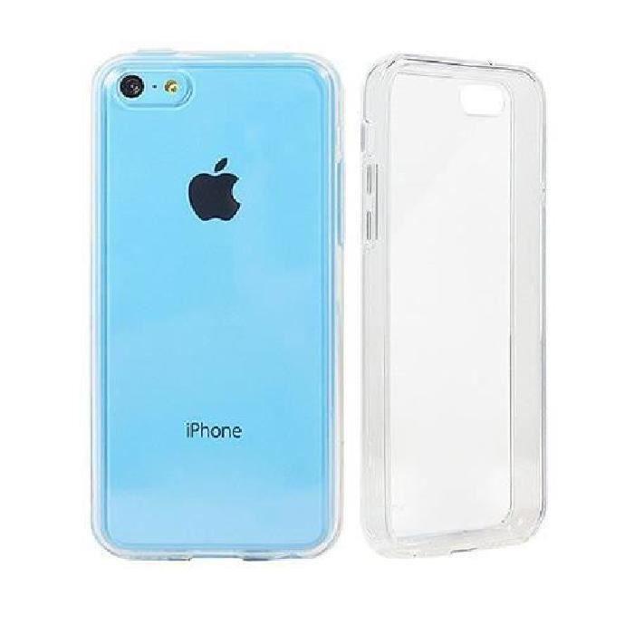 coque silicone transparente iphone 5c transparent