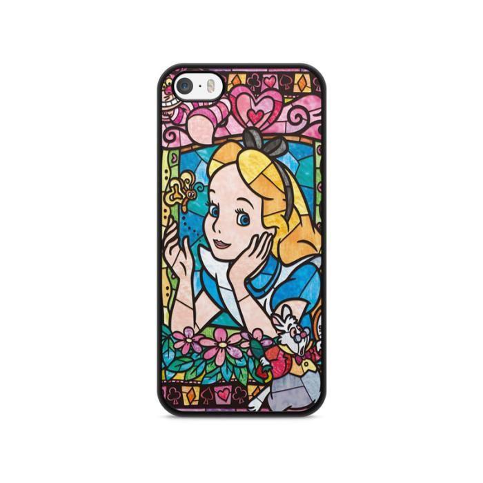 coque iphone 5 5s se disney princesse alice mo