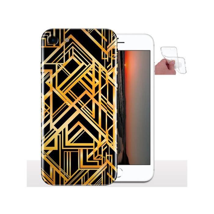 Coque iphone 8 geometrique