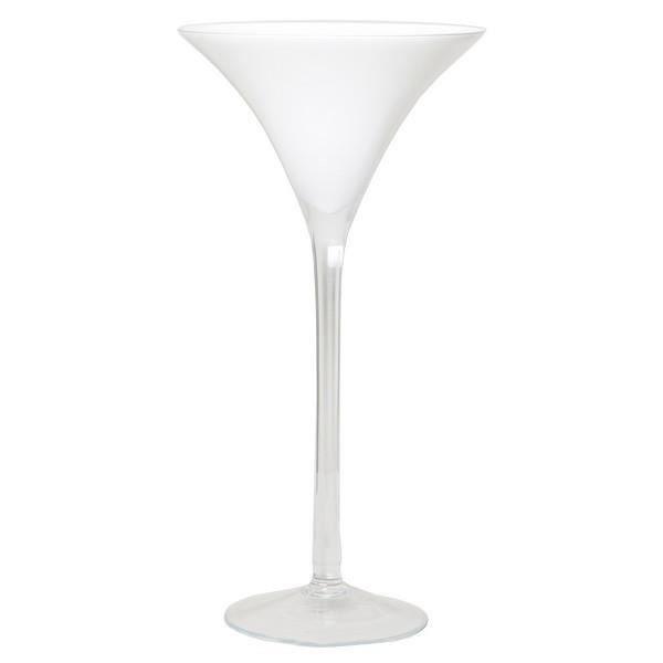 VASE - SOLIFLORE Verre à martini - verre à cocktail IVANA sur pied,