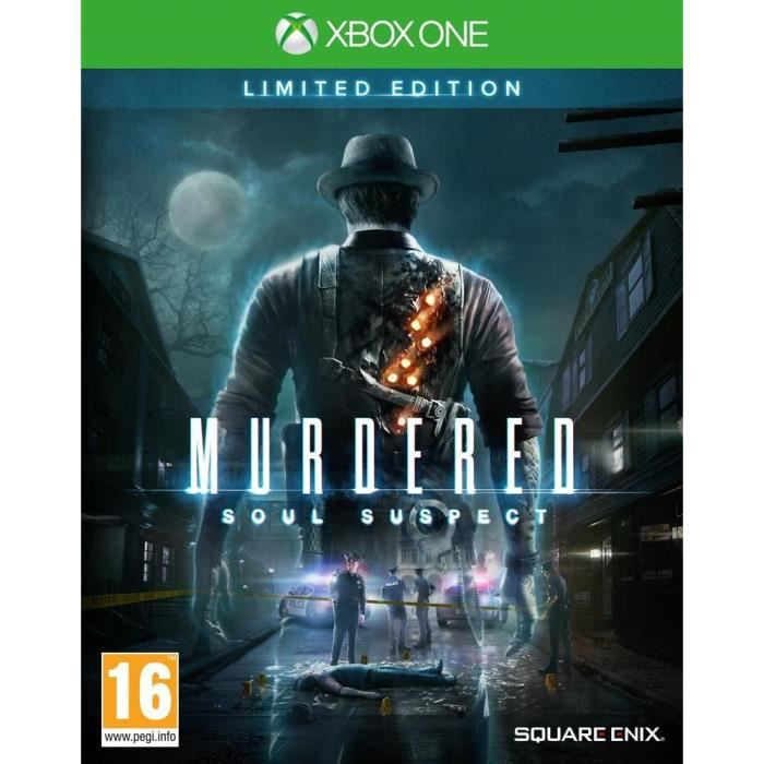 JEUX XBOX ONE Murder Soul Suspect Limited Edition Jeu Xbox One