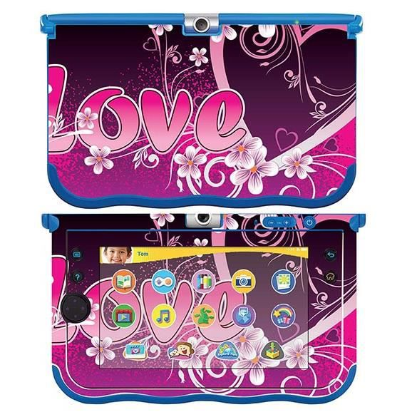 skin stickers pour vtech storio max sticker love heart prix pas cher cdiscount. Black Bedroom Furniture Sets. Home Design Ideas