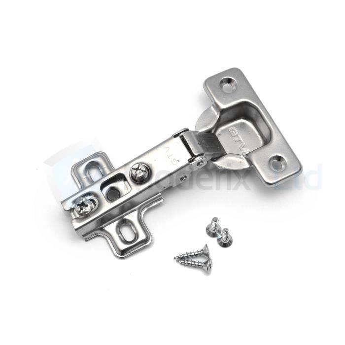 4x 2 paires de 45 degrés Cuisine Cabinet Armoire Placard // coin charnière
