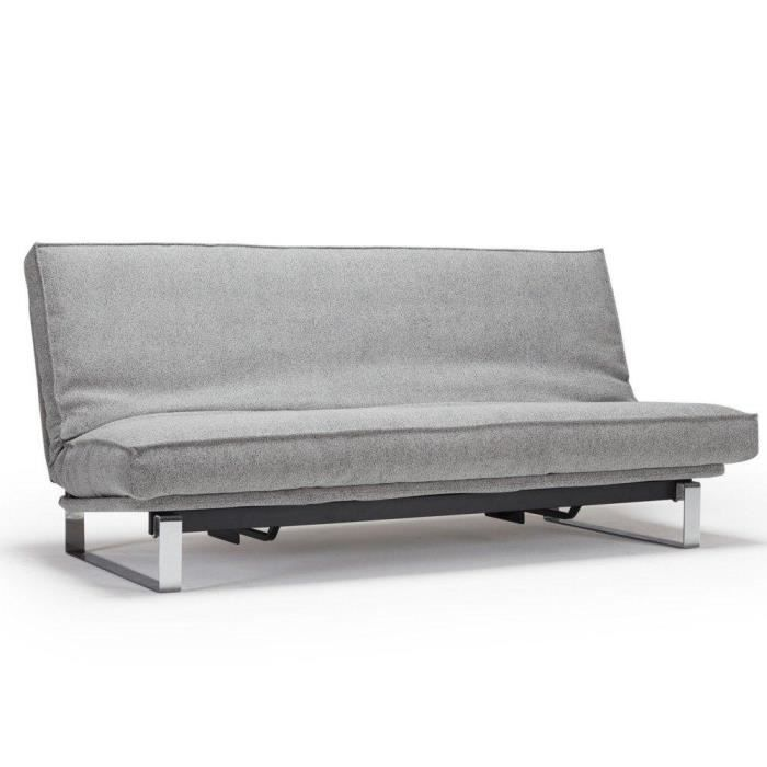 Minimum canvas canap convertible lit 200 140 achat vente canap sofa - Canape lit bz couchage quotidien ...