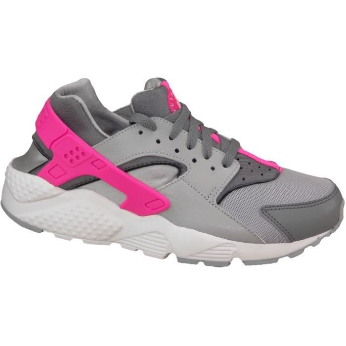 check out 918bd 6418a BASKET Nike Huarache Run Gs 654280-006
