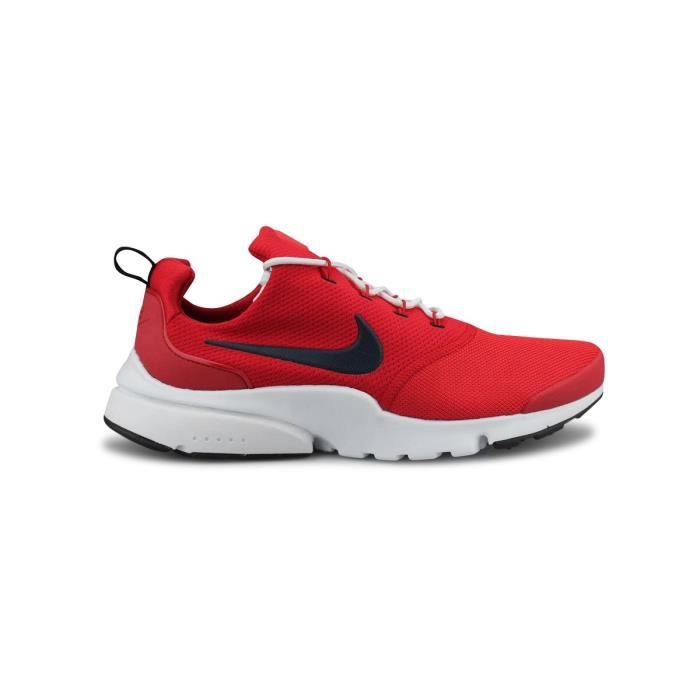 buy popular 1aed8 ce17b BASKET Baskets Nike Presto Fly Rouge.