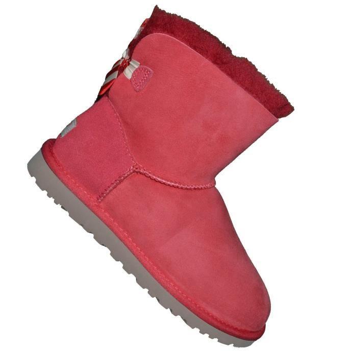 bottes ugg femmes rouge