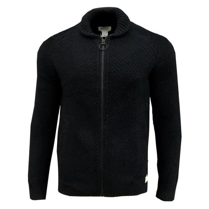 adidas Originals Utility TT Pull over cardigan pour Hommes en laine, Bleu Marine Moyen