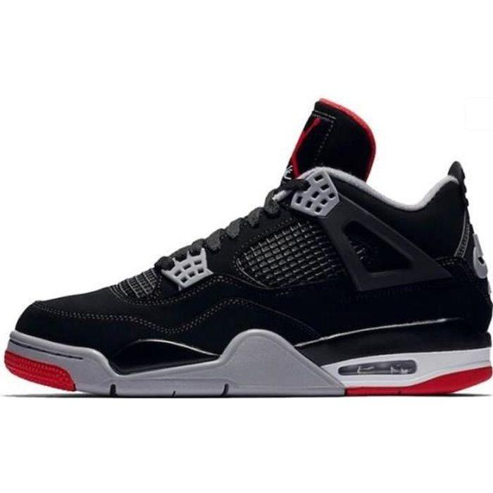 Air Jordans 4 Retro Bred (2019) - Chaussures de ba
