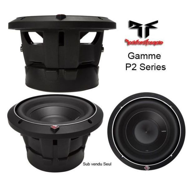 subwoofer 38 cm rockford p2d4 15 haut parleur voiture. Black Bedroom Furniture Sets. Home Design Ideas