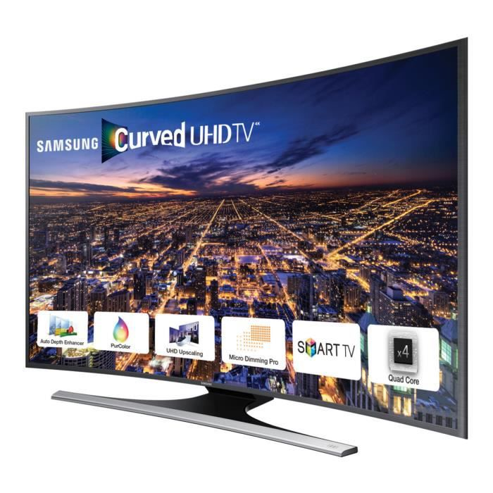 tv samsung ue65ju6500 4k uhd smart tv 165 cm. Black Bedroom Furniture Sets. Home Design Ideas