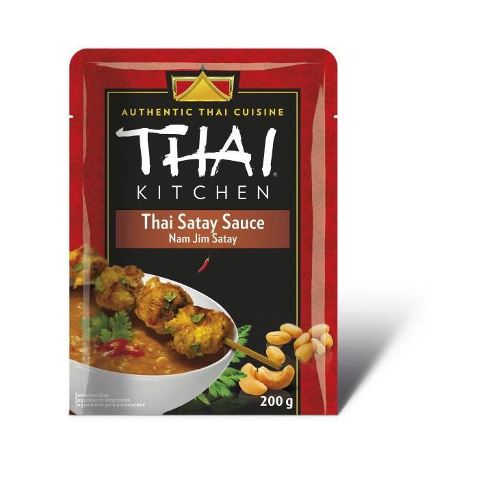 SAUCE EXOTIQUE - PIMENT Thai satay sauce 200 g Thai Kitchen