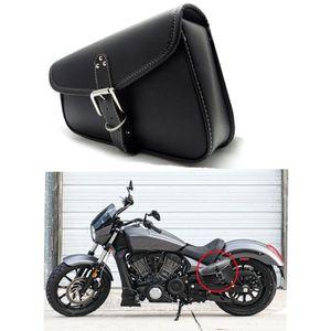 Ensemble de sacoches de moto Ensemble de sacoches de moto inclin/ées en cuir PU 2 pi/èces Accessoires de moto