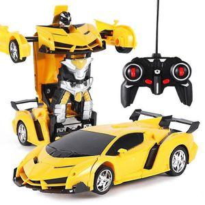 VOITURE - CAMION 1:18 Transformers Voiture télécommandée électrique