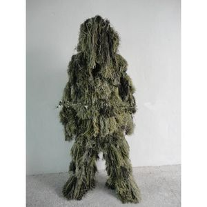 ACCESSOIRE DÉGUISEMENT Vêtements de camouflage jungle sniper