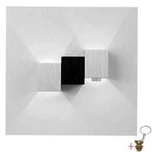 APPLIQUE  Applique Murale Intérieur LED Moderne Lampe Carrée