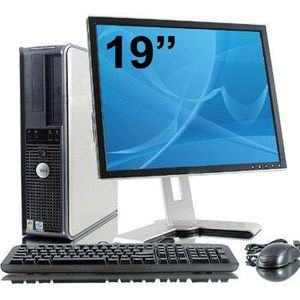 ORDI BUREAU RECONDITIONNÉ DELL OPTIPLEX 380 + TFT 19