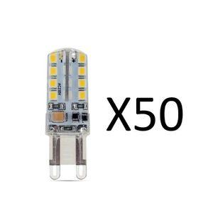 AMPOULE - LED Elinkume Ampoule LED 10x G9 2.5W équivalent à 20W