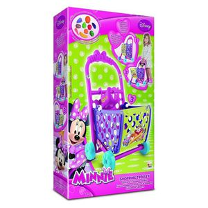 FIGURINE - PERSONNAGE Disney Minnie Mouse Shopping Trolley Playset