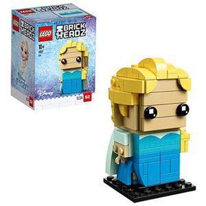 ASSEMBLAGE CONSTRUCTION Jeu D'Assemblage LEGO JWXGE 41617 Brickheadz Elsa
