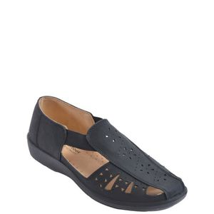 SLIP-ON Ladies Side Slip Élastique Chaussures
