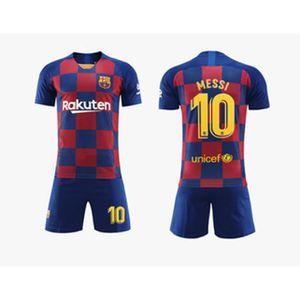 MAILLOT FOOT AMERICAIN Maillot de Football Costume Barcelona MESSI NO.10