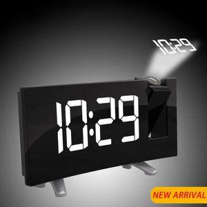 Radio réveil  radio-réveil Projecteur numérique Affichage à min