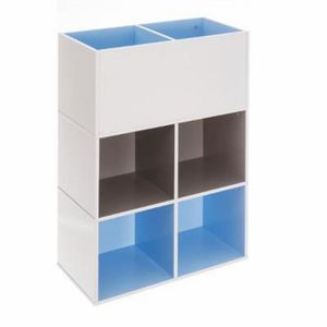 etagere cube bleu achat vente etagere cube bleu pas. Black Bedroom Furniture Sets. Home Design Ideas