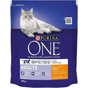 CROQUETTES Croquettes adulte poulet 450 g Purina One