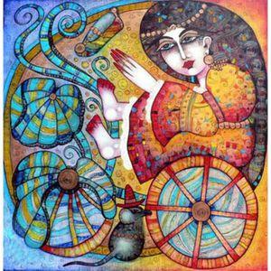 CYKEJISD Peinture par Numero Portrait DIY Papillon Aneth D/écoration Murale Bricolage Peinture sur Toile pour La Maison