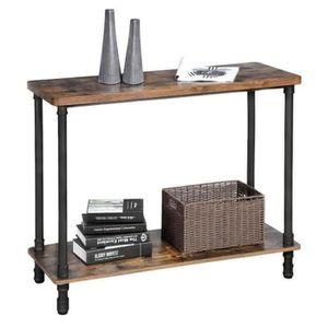 CONSOLE VASAGLE Table de console, Table d'entrée, Style in