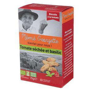 BISCUITS SECS MEME GEORGETTE Biscuit à la tomate séchée et basci